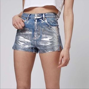 Top Shop Mom High Waisted Shorts